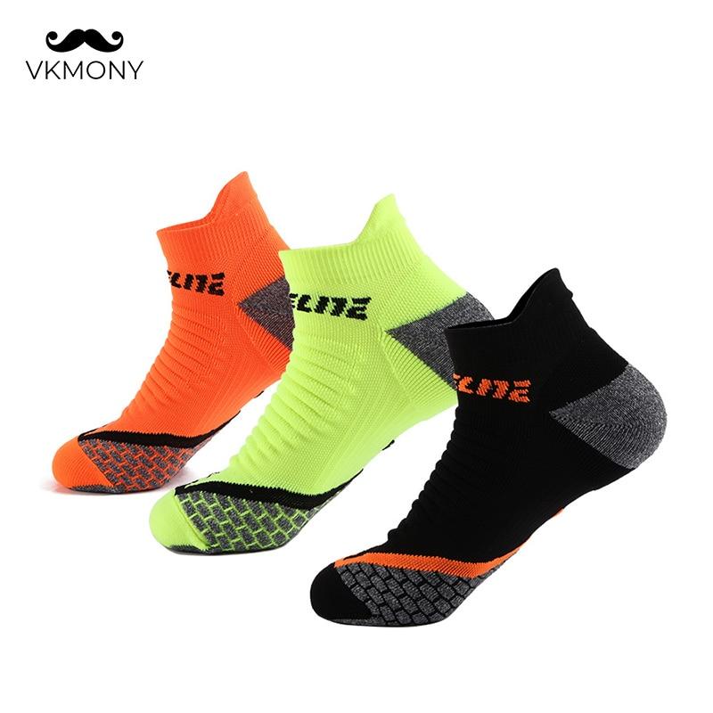 Sport Socks High Quality Men Basketball Running Cycling Socks Athletic Socks Sweat-absorbent Socks VKMONY