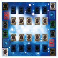 Zabawki dla dzieci gumowa mata do zabawy 60x60cm podkładka do gry w stylu Galaxy Playmat do karty yu-gi-oh zabawna edukacyjna zabawka dla dzieci mata do zabawy tanie tanio RUBBER 0 5 cm do not eat Unisex Podział wspólnego 0-12 miesięcy 13-24 miesięcy 3 lat Edukacyjne as show baby toys