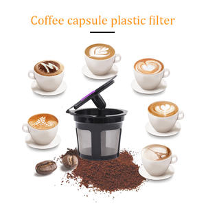 Cafe REFILLABLE-FILTERS Coffee Capsule Dolce Gusto Baskets-Pod Reusable for Models Soft