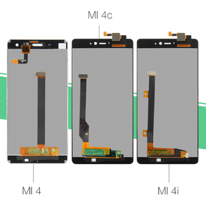"""Image 2 - 5.0"""" Original Display For XIAOMI Mi4 LCD Touch Screen with Frame for Xiaomi Mi4C LCD Display Mi 4 4C 4i Mi4i LCD Replacement"""