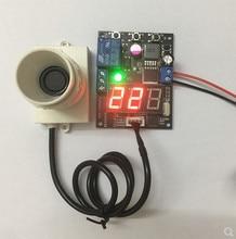Module de mesure de distance à ultrasons à petit Angle avec distance daffichage relais de distance réglable sortie capteur intégré