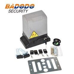 Automatyczna brama przesuwna otwieracz 1600lbs 2646lbs 3306lbs sprzęt elektryczny Heavy Duty Track podjazd silnik zestaw bezpieczeństwa|Zestawy do kontroli dostępu|Bezpieczeństwo i ochrona -