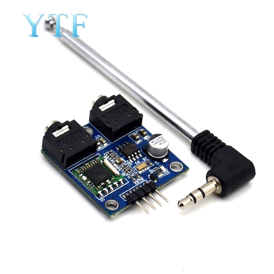 TEA5767 FM Stereo Radio Module For  76-108MHZ With Free Cable Antenna