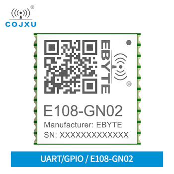 Multi-Mode Satellite Positioning Module GNSS Positioning High-Performance E108-GN02 Drone Wireless GPS Module image