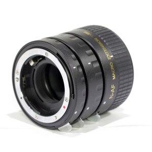 Image 3 - Pixco Nikon Metal Auto Focus Macro Extension Tube Set MK N AF1 A 12+20+36mm