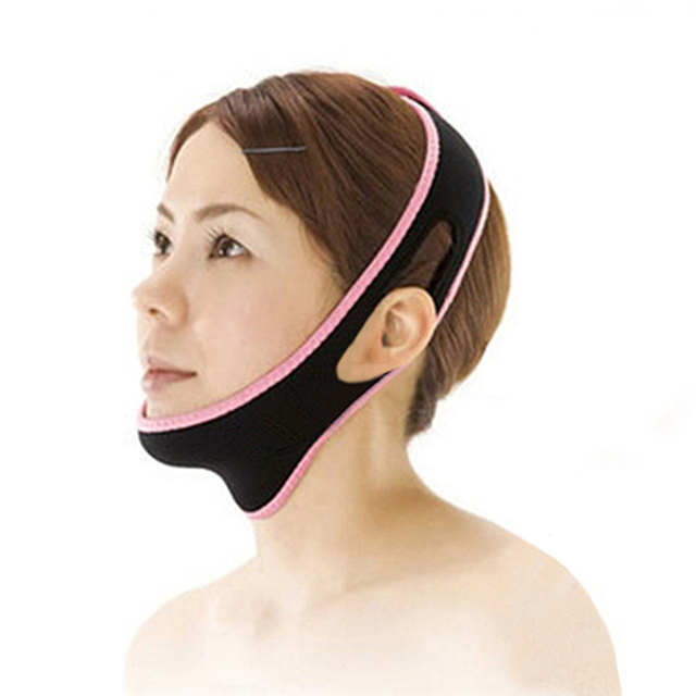 1Pcs Powerful 3D Face-lift Device Facial Thin-Face Bandages V-Face Correction Sleeping Face Shaper Face Slimmer Beauty Tool