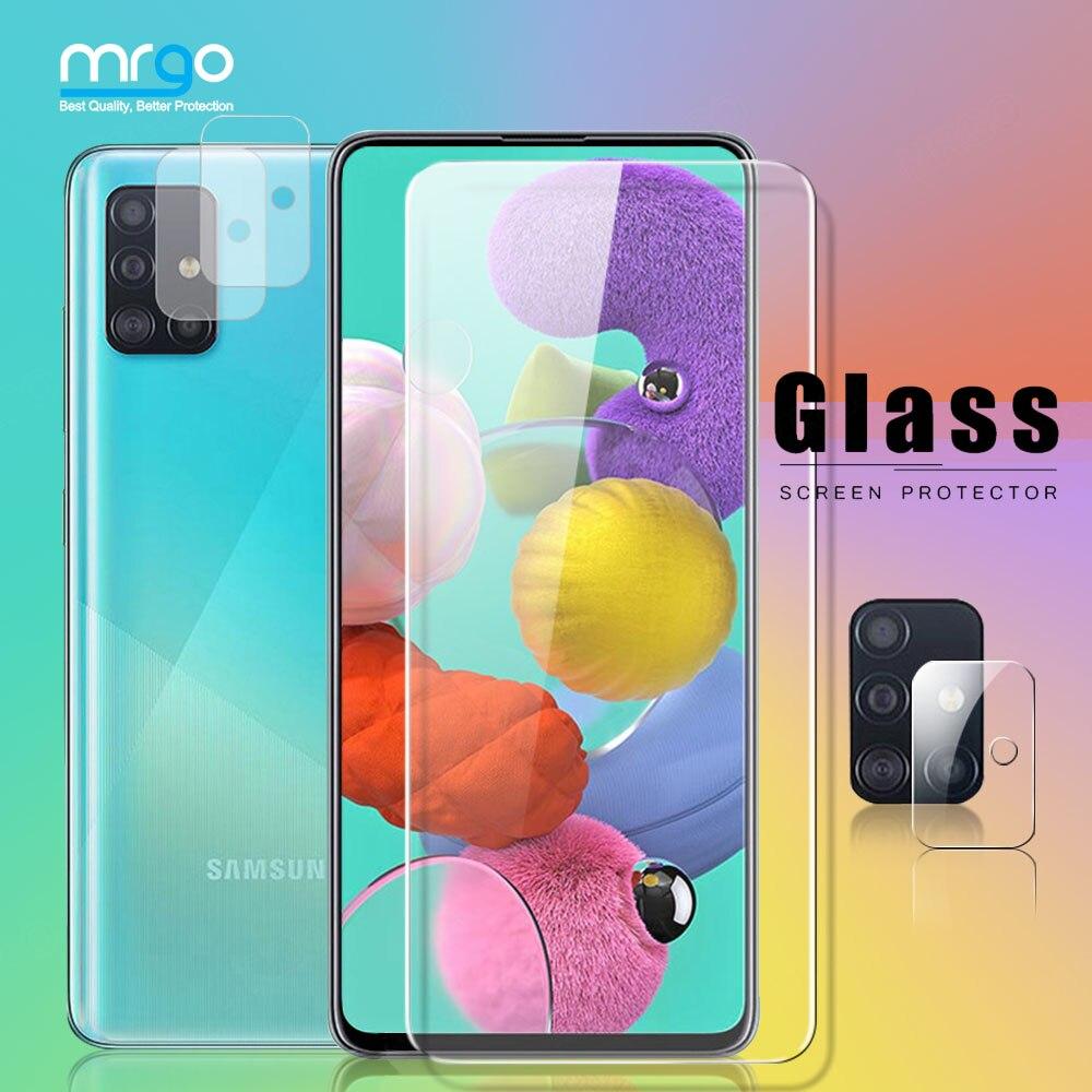 Закаленное стекло для Samsung A51, A52, A71, Защита экрана для Samsung A51, стекло A52 для Samsung Galaxy A72, A50, M31, A31, M21, A70, A20