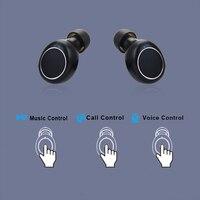 Mornlex mt01 tws bluetooth 5.0 fones de ouvido estéreo sem fio botão controle cancelamento ruído jogos esportes à prova dheadset água fone 5