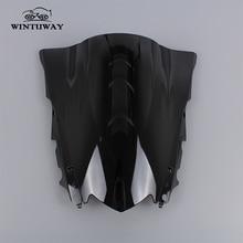 WINTUWAY Motorcycle Windscreens For YAMAHA R3/R25 2014-2016 Windshield WindScreen Visor Viser Wind Deflector Moto Accessories