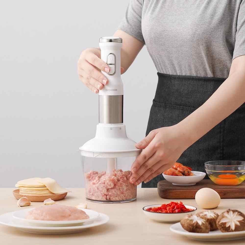 2019 nova xiaomi mijia qcooker CD-HB01 mão liquidificador cozinha elétrica processador de alimentos portátil misturador juicer multi função rápida