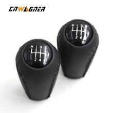 Car Auto Leather Gear Knob Stick Shift For Mazda 3 BK BL 5 CR CW 6 II GH CX-7 ER MX-5 NC III 2005 2006 2007 2008 2009 2010 2011 цена 2017
