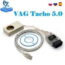 Para vag tacho 5.0 usb versão ft245rl vagtacho usb suporta vdo nec mcu 24c32 ou 24c64 vag tacho v5.0 qualidade estável