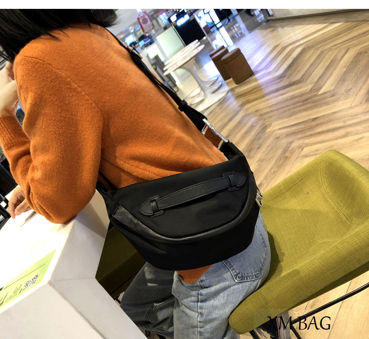 Nylon Belt Bag Waist Packs for Women Casual Designer Quality Fanny Pack Message Bag Female 2020 Fashion Brief Bum Crossbody Bag