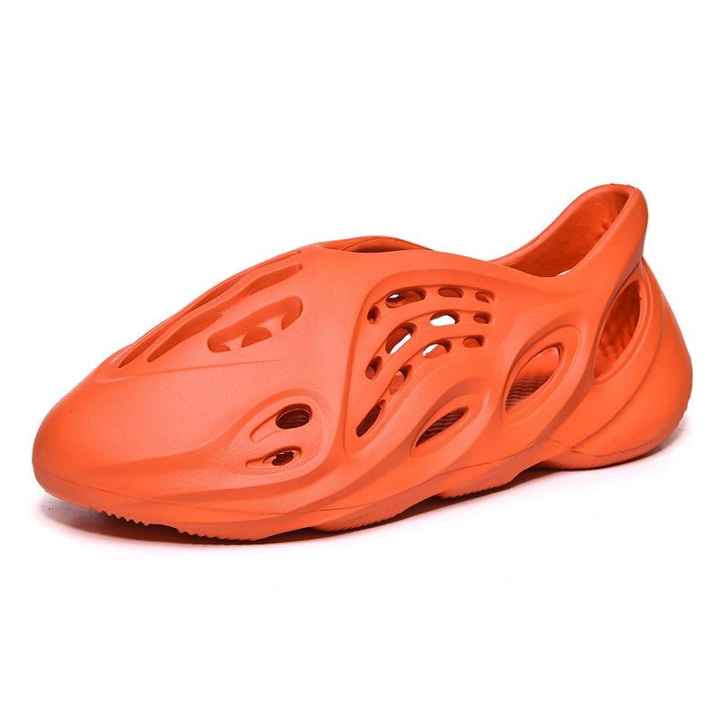 QZHSMY 2020 Men Casual Shoes Summer Sneakers Tenis Holes Air Mesh Factory Wholesale Breathable Comfortable Light Plus Size 36-48