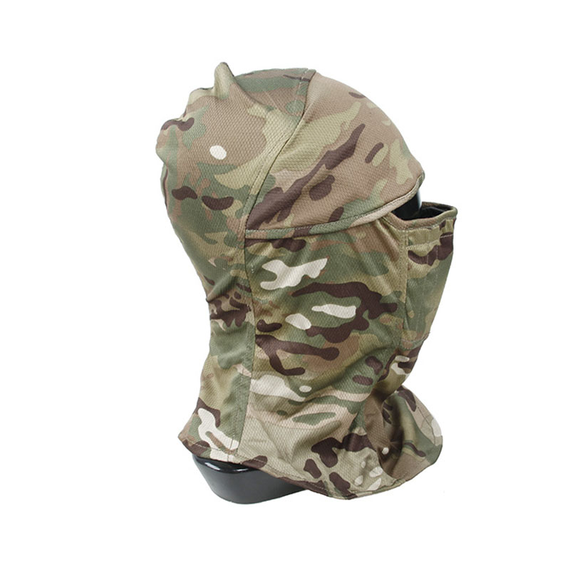 H779d396ebf5848779fac287c30c6c800F TMC3267 CS Tactical Camo Head Cover Metal Mesh Balaclava Full FaceMask Sunscreen Dust-proof Full-wrapped Headscarf Free Shipping