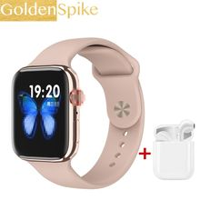2020 IWO reloj serie 5 reloj inteligente 1:1 música Bluetooth llamada SmartWatch 44mm para Apple Iphone teléfono Android PK IWO 9 12 13(China)