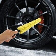 Washing-Brush Vehicle-Wheel Car-Rims Auto Care Plastic-Handle Universal