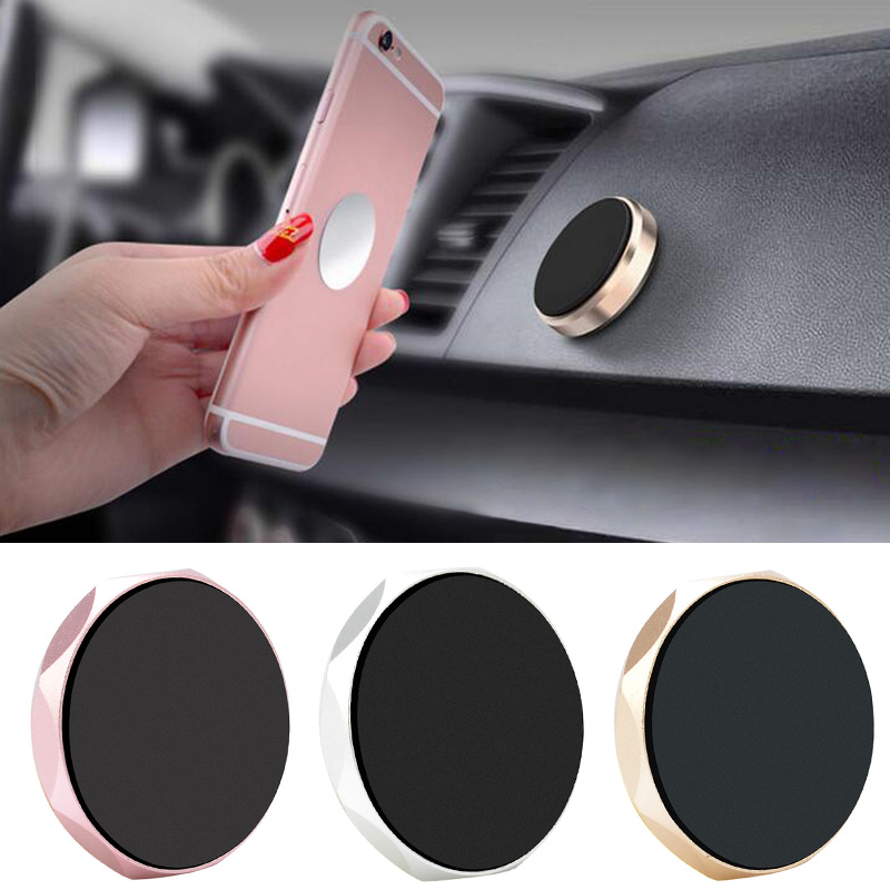 4 Colors Optional Universal 360 Mobile Phone GPS Car Magnetic Dash Mount Holder CellPhone Stand For IPhone Samsung IPad Tablets