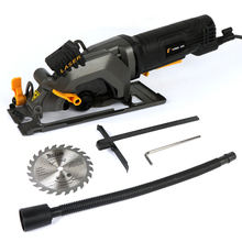 Electric Chainsaw Cutting-Machine Circula-Saw Woodworking Multi-Function Hand-Held Mini