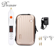 Electric Plasma Pen Mole Removal Dark Spot Remover LCD Skin Care Point Pen Skin Wart Tag Tattoo Removal Tool Beauty Care