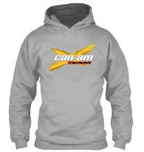 Bomber Hoodies Mannen BRP Can-am Hoodies Sweatshirt Mannelijke Motorfiets Trainingspak Hip Hop Herfst Winter MV Agusta Hoodie(China)