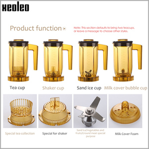 Image 2 - Xeoleo máquina de quebrar chá da bolha máquina de chá teapsso multifuction liquidificador de alimentos máquina de agitação fabricante de smoothie brew creme