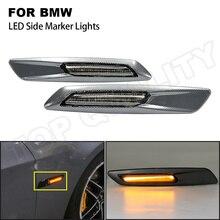 สำหรับBMW E60ซีดานE61 Wagon E82 Coupe E88 E90 E91 E92 E93 2008 2010 Dynamic LED Side Markerเลี้ยวสัญญาณลูกศรไฟกระพริบ
