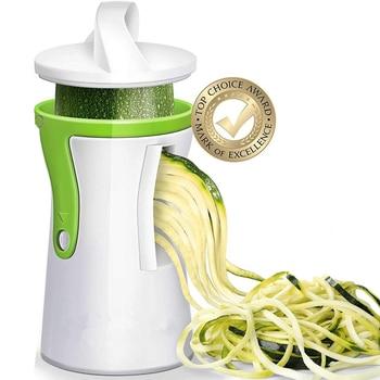 Heavy Duty Spiralizer Vegetable Slicer Cutter Zucchini Pasta Noodle Spaghetti Maker 1