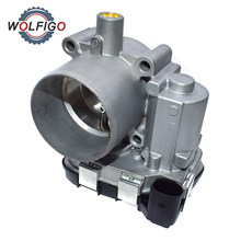 WOLFIGO Throttle Body Assembly For VW Jetta Golf Passat Polo Audi A3 Seat Leon Ibiza For Skoda Octavia 03C133062D 03C133062A(China)
