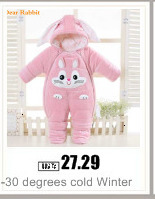 H779eea2d81bb4671b96a033d766b9937P 2019 New Russia Baby costume rompers Clothes cold Winter Boy Girl Garment Thicken Warm Comfortable Pure Cotton coat jacket kids