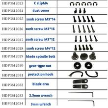 HDP36-1 spare parts link II  ( HDP3612020-HDP3612035  )