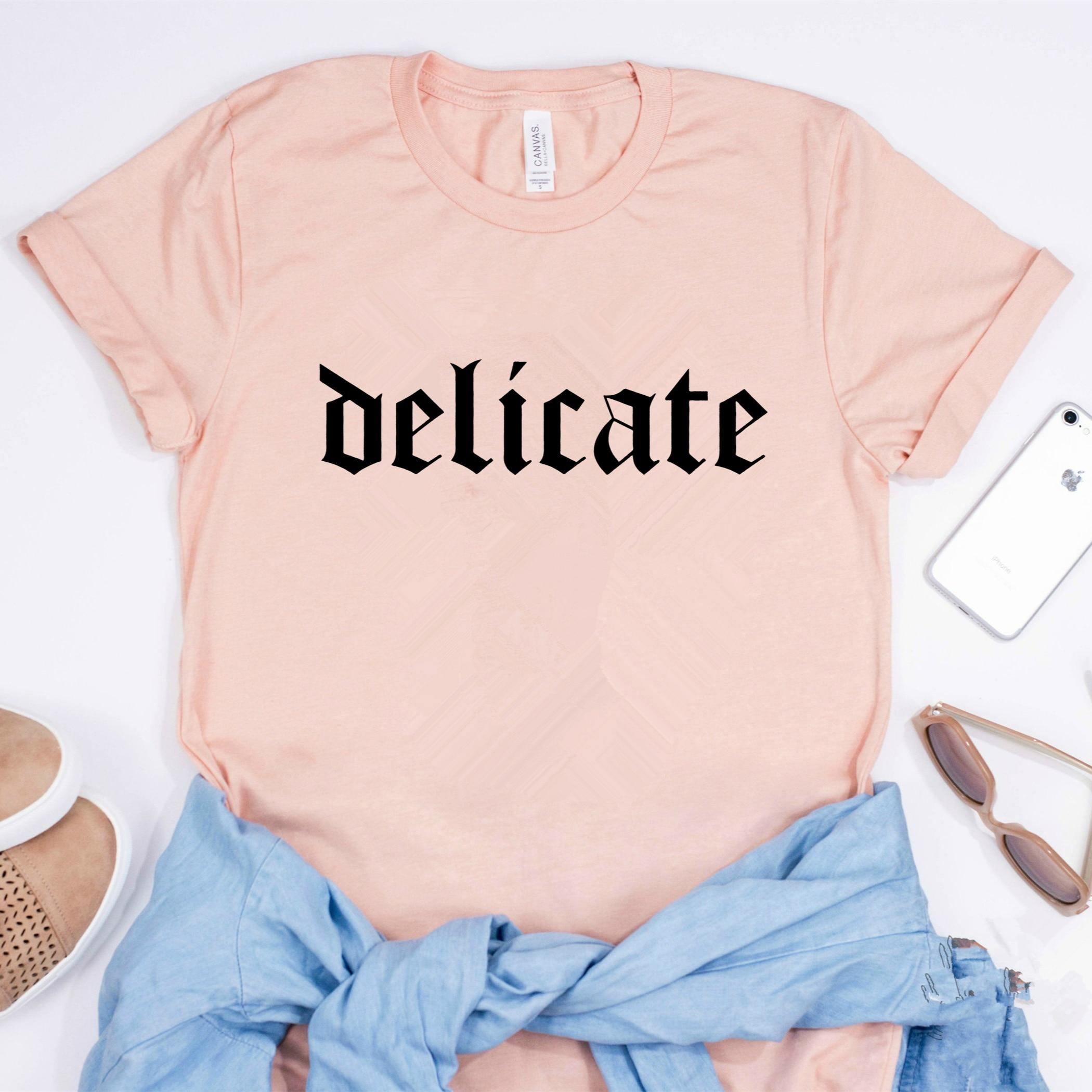 2020 New Taylor Rep Shirt Delicate Lyrics Shirt Taylor Tank T Swift Taylor Big Rep T-shirt Unisex T-shirt