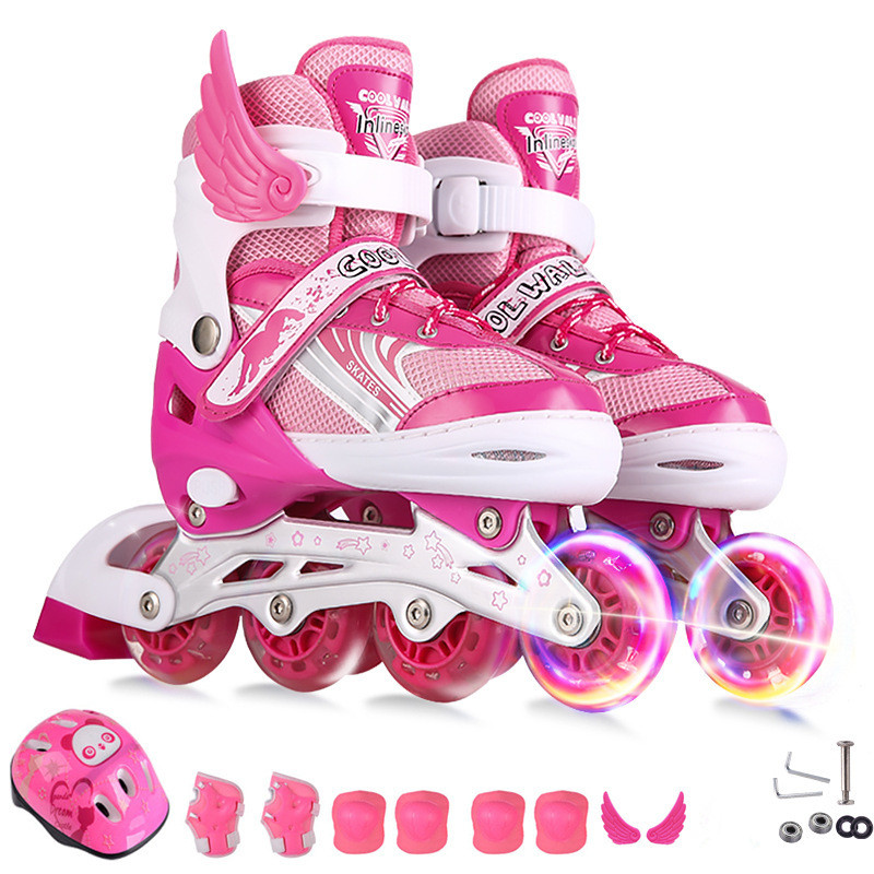 New Children Adjustable Skates Roller