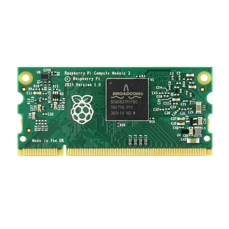 For Raspberry Pi Compute Module 3 Contains The Guts Of A Raspberry Pi 3 4GB EMMC Flash 1.2GHz Quad-Core ARM Cortex-A53 Processor