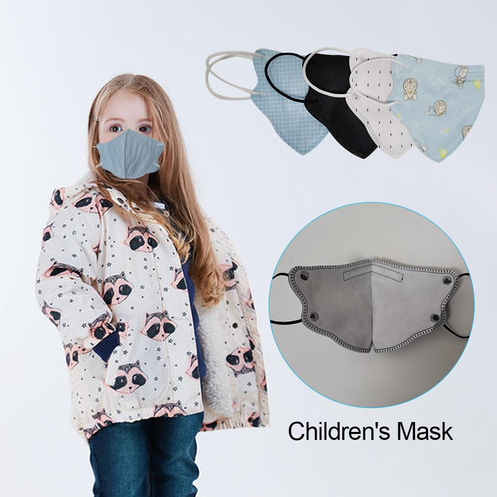 Kids Mask Anti-smog Dustproof Facial Protective Cover Masks Maldehyde Prevent Bacteria Anti-virus Masks Reusable Masks