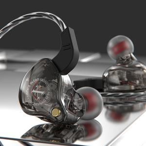 Проводные стереонаушники Super Bass, Hi-Fi наушники-вкладыши с проводным управлением, игровые наушники с микрофоном для ПК и телефона