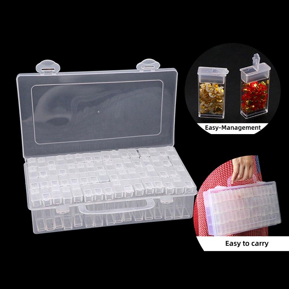 Box Storage-Box Beads-Container Accessories Painting-Tools Diamond Embroidery Rhinestone