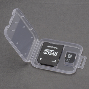 Image 2 - SD Memory Card Case TD Holder Protector Transparent Box Plastic Storage Memory Card Cases