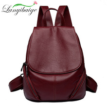 Women Backpacks Women Leather ravel backpack  Designer Sac A Dos  High Quality Teenage girl's school bag Sac a Dos Femme mochila mujer teka dos 60 a ob dos 60 anthracite brass