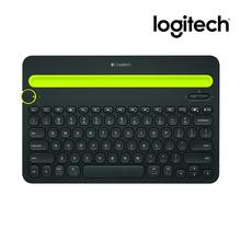 Logitech K480 Multi-Device Bluetooth Keyboard Portable Phone Pad Holder Mini for Windows MacOS iOS Android Pads