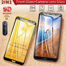 9D Note 4X 8T Protective Glass For Xiaomi Mi 9 9T Camera Glass Protector On The For Redmi 6 Note 7 5 8 K30 K20 Pro Tempered Film(China)