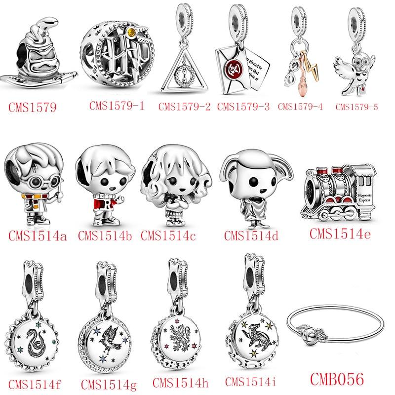 HOT SALE 100% Sterling Silver 925 Little Boy Little Girl Magic Series Charms Fit Original Pandora Bracelet For Women Jewelry Beads  - AliExpress