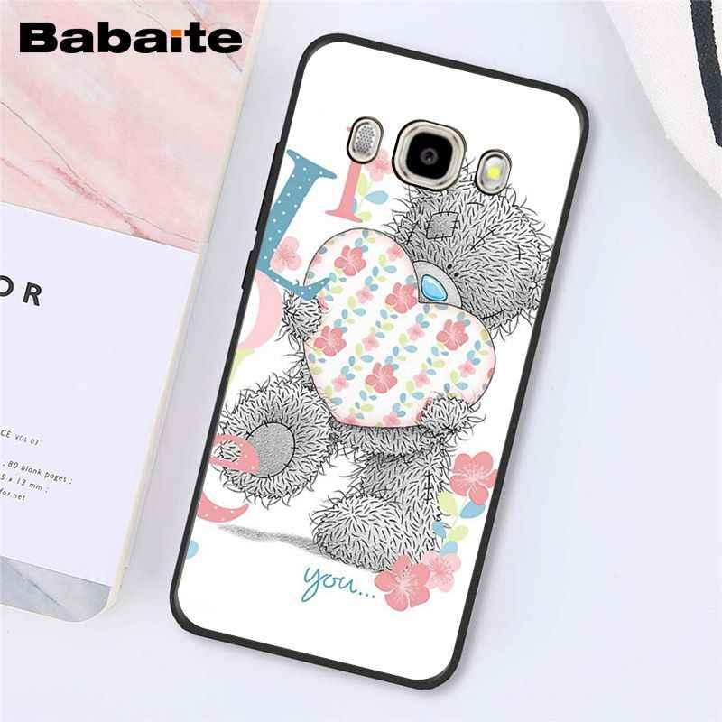 Babaite Tatty Teddy Me A Voi Cassa Del Telefono Dell'orso Per Samsung Galaxy J7 J6 J8 J4 J4Plus J7 DUO J7NEO j2 J5 Prime