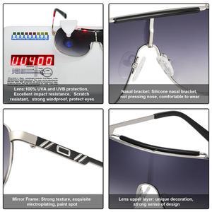 Image 5 - FENCHI חדש משקפי שמש גברים נשים נהיגה כחול נשי גדול שמש משקפיים שובר רוח משקפי Zonnebril גבירות Oculos Feminino