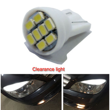 1000PCS White T10 Led W5W 194 168  Auto Bulbs  Car Lights