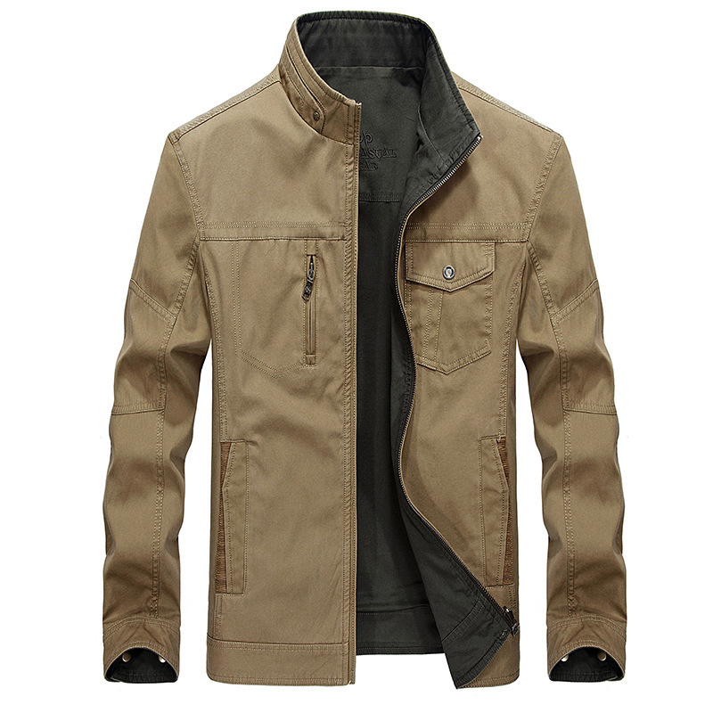 Мужская повседневная куртка из 100% хлопка, двубортная деловая ветровка, верхняя одежда для весны и осени, размеры от 1 года до 4 лет, Chaqueta Hombre