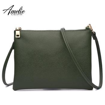 AMELIE GALANTI Fashion Women's Clutch Bag Pu Leather Women Crossbody Bags For Women Casual Mini Evening Bag Female