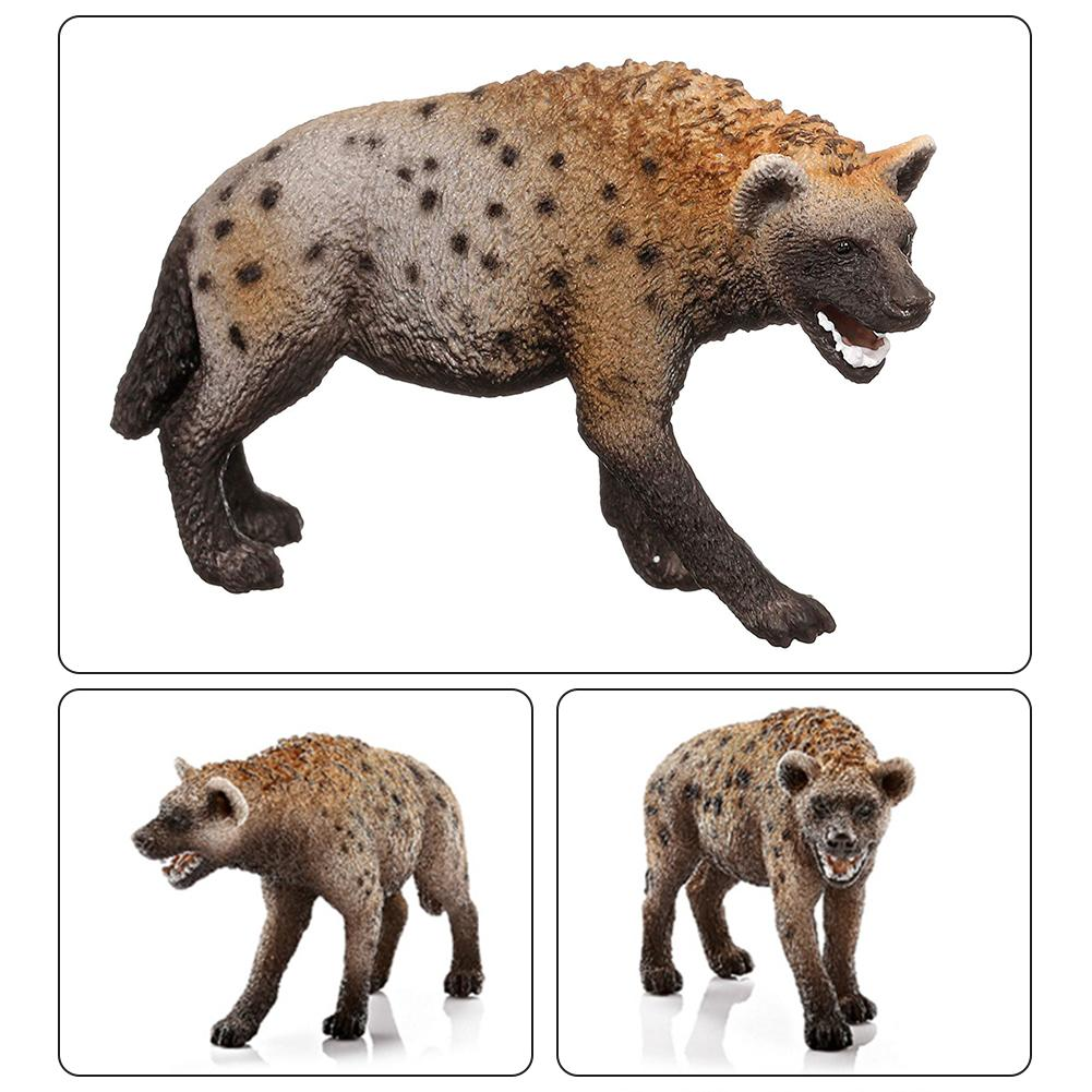 Image 3 - 3.4inch Wild Animal PVC Hyena Model Figure Kids Preschool Figurine Toy 14735-in Action & Toy Figures from Toys & Hobbies