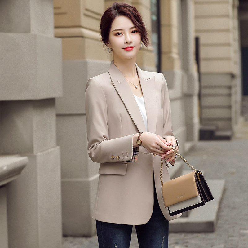 Large size S-4XL professional women's suit jacket feminine 2020 new autumn loose ladies blazer Elegant office suit Female
