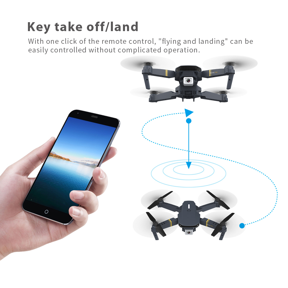 lowest price F89 Folding Remote Control Drone 4K Dual Camera Long Endurance RC Drone Fixed Height Quadcopter Remote Control Aircraft Toys